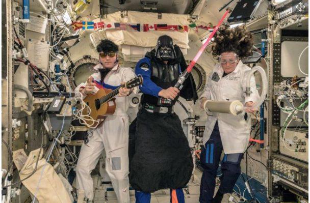 Expedition 57 Halloween