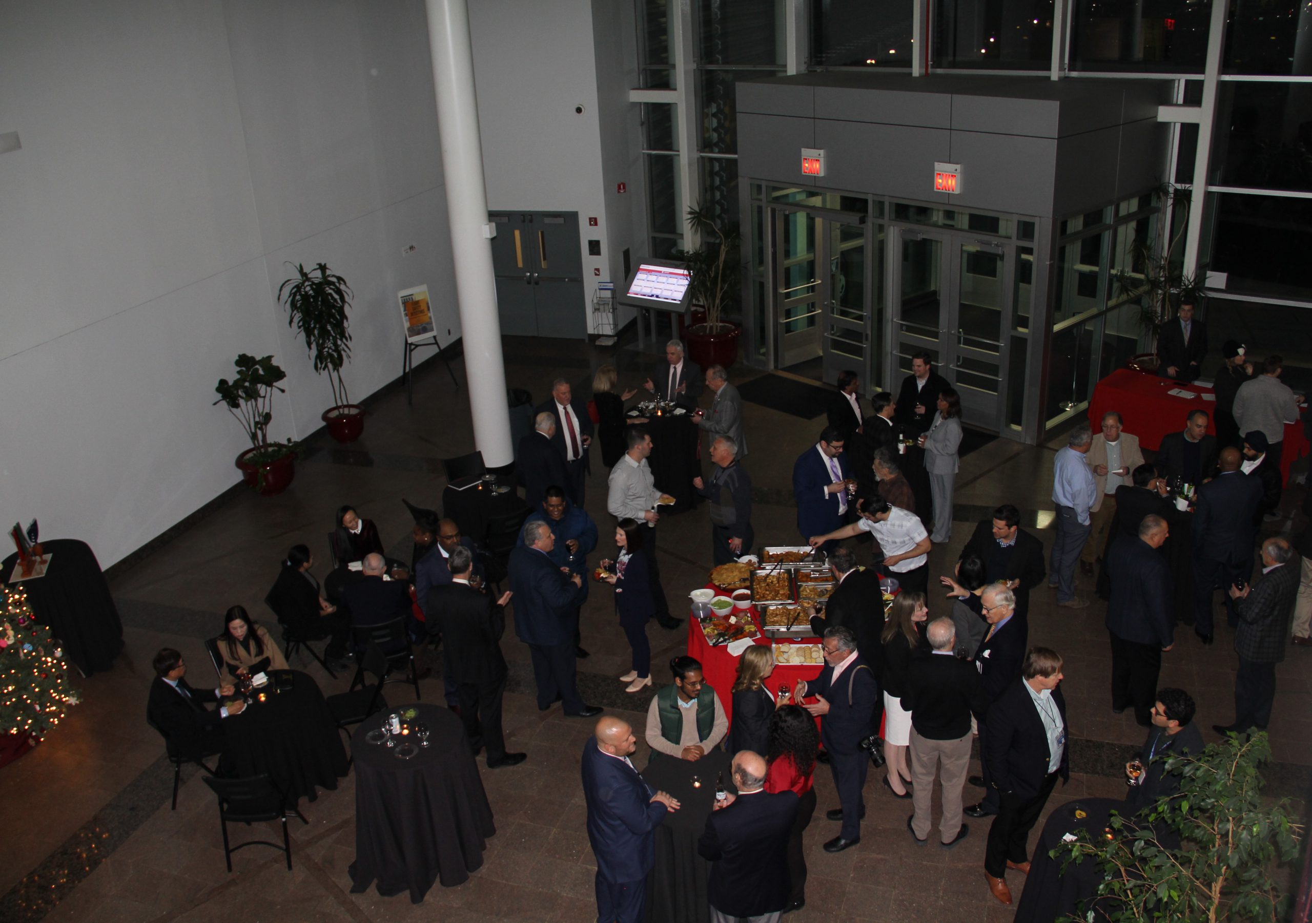 Alumni and Friends Attend Vaughn's New Year Reception