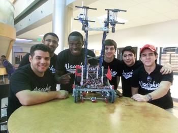Vaughn Robotics Club Participates in Fall Competition