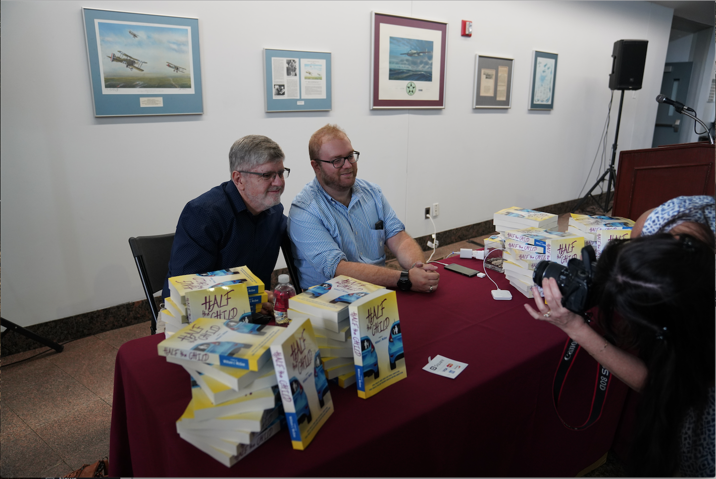 Book Launch Party Held at Vaughn