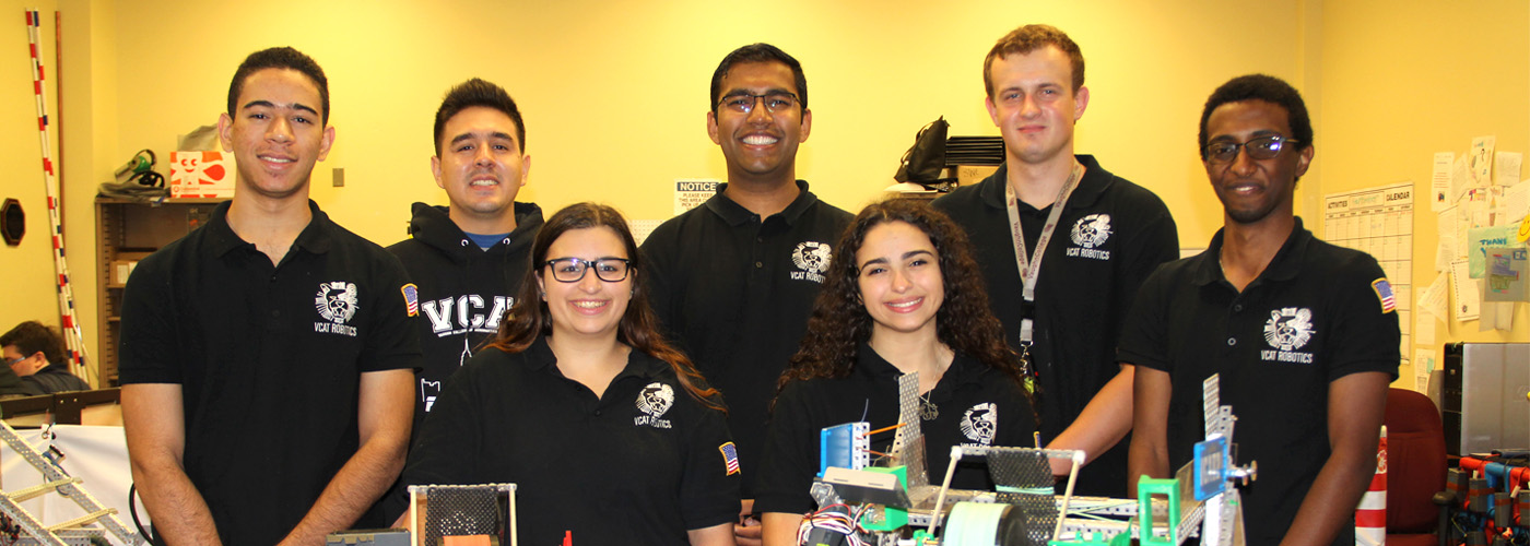 Vaughn College World Champion Robotics Team