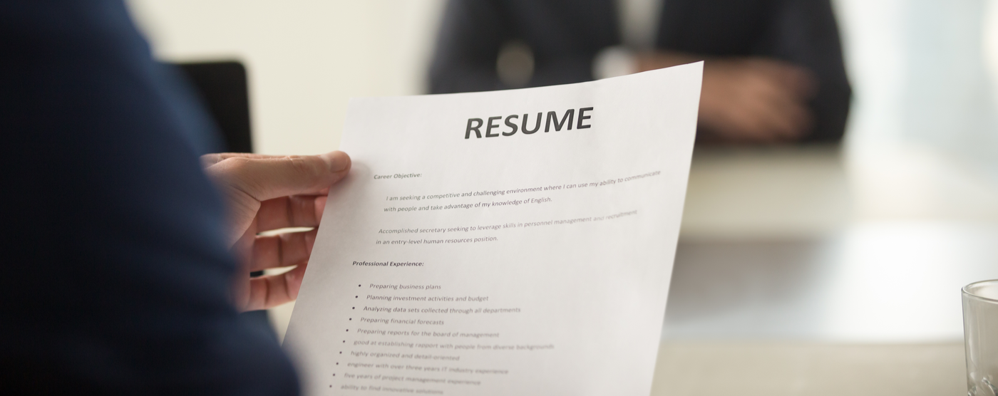 Building a Strong Resume