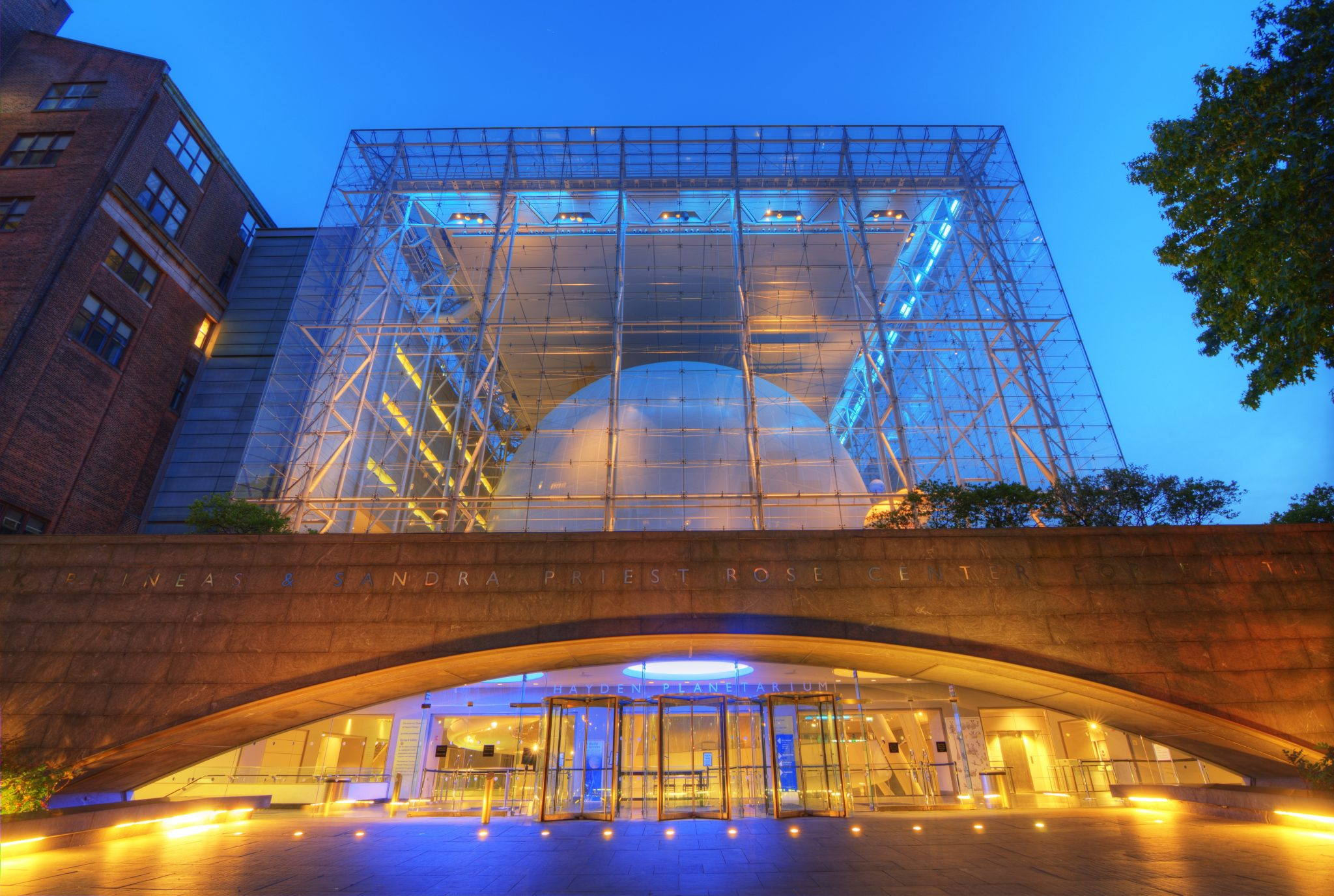 The Hayden Planetarium