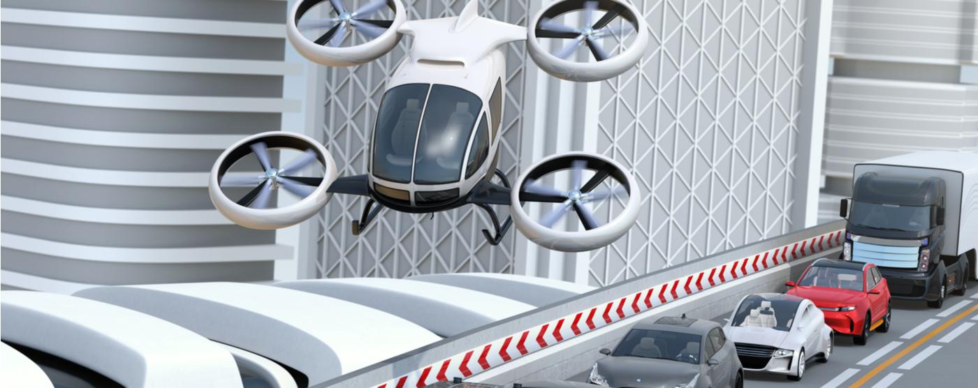 Urban air mobility transportation technology