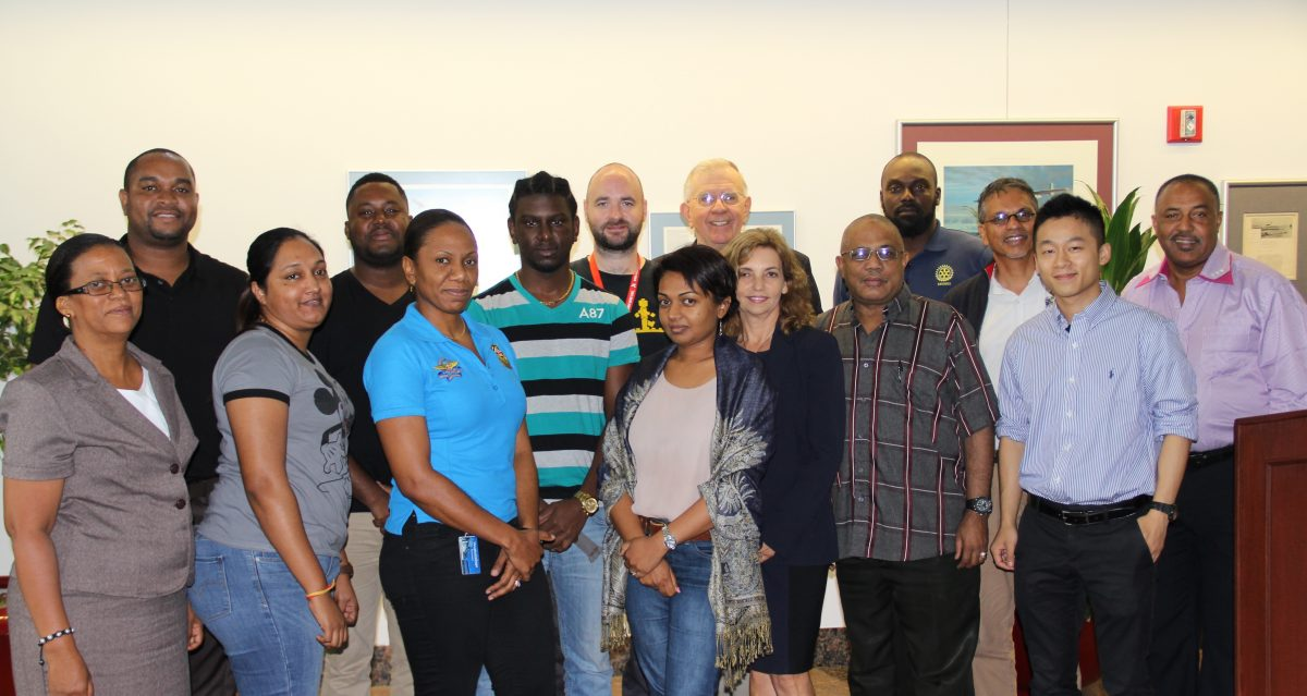 Vaughn Welcomes Graduate Students from the University of the West Indies