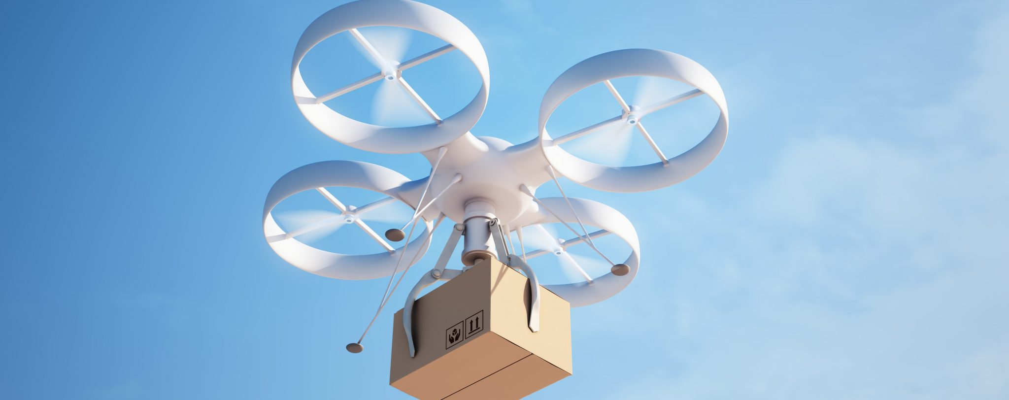 Your Amazon package delivered via drone