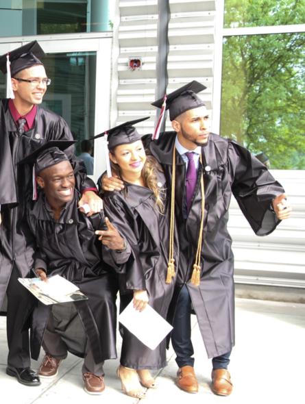 Vaughn graduates
