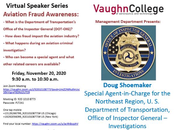 Management Speaker Series: Doug Shoemaker