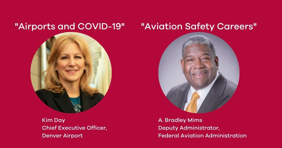 Kim Day and Bradley - Aviation Mims Management Speaker Series