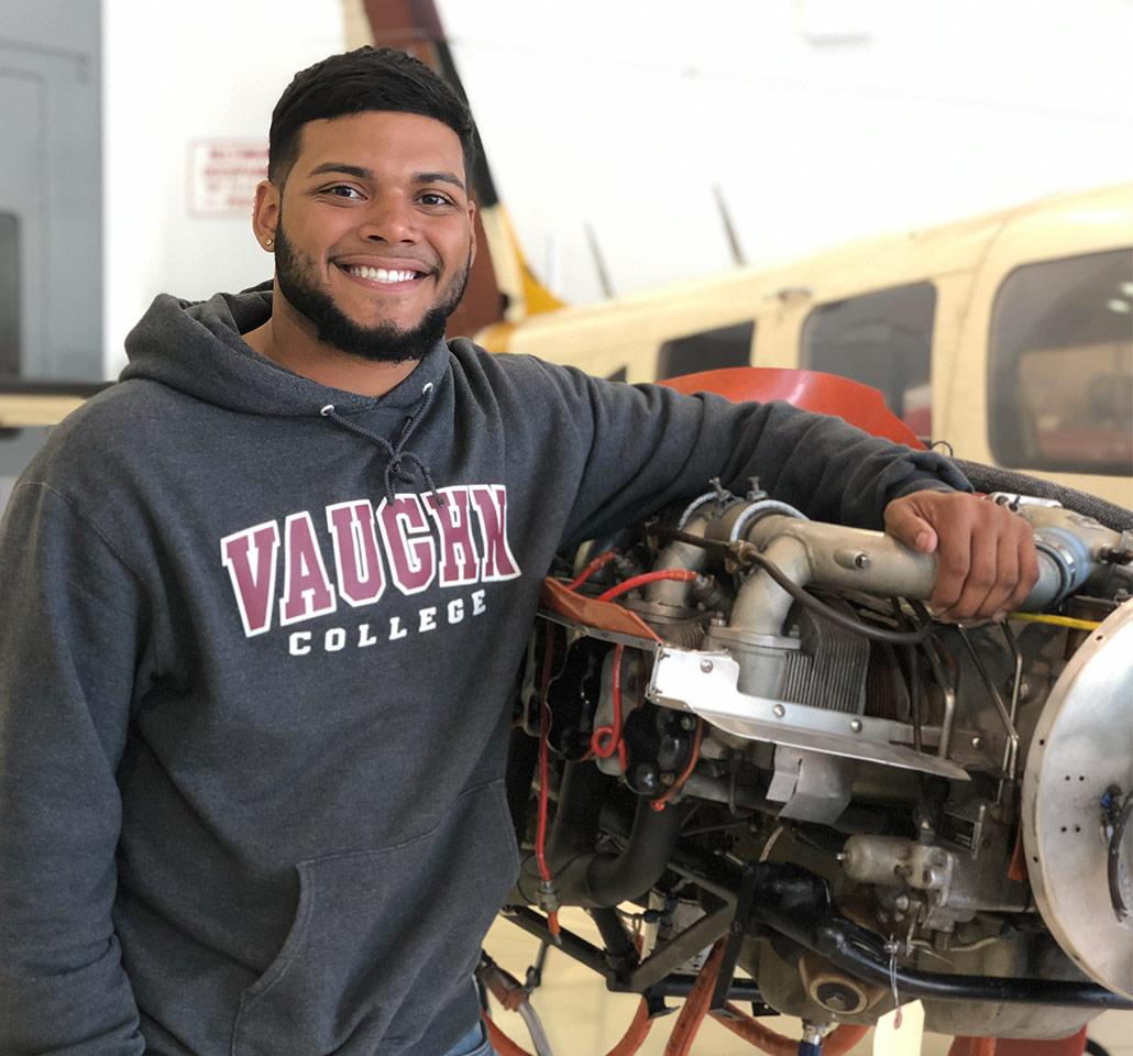 Yariel, Vaughn College student