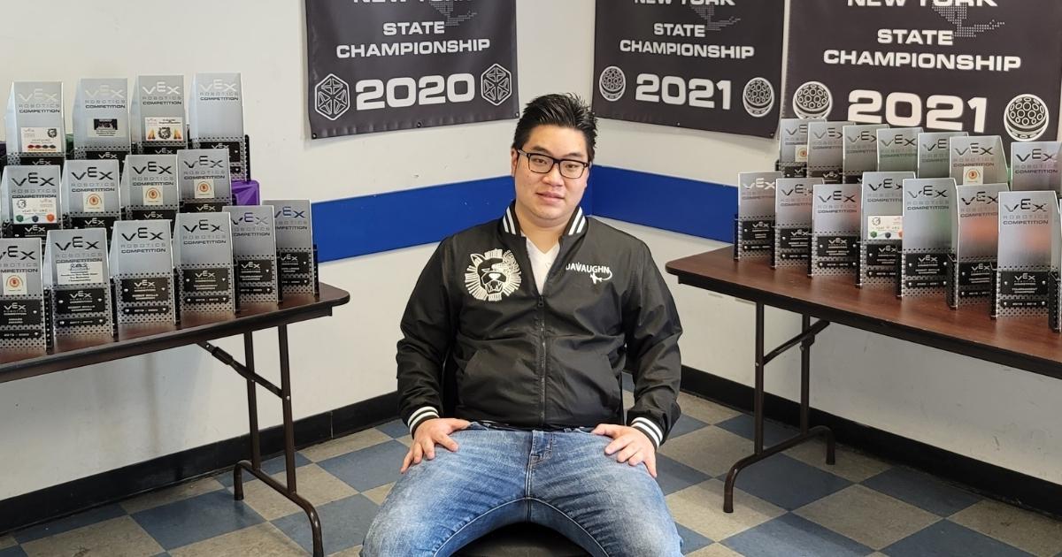 Vaughn mechatronic engineering graduate Ryan Tang '17