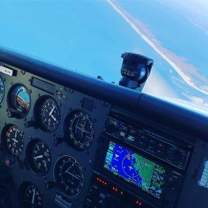 Heritage plane cockpit and controls