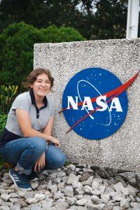 Tatiana Jaimes at NASA